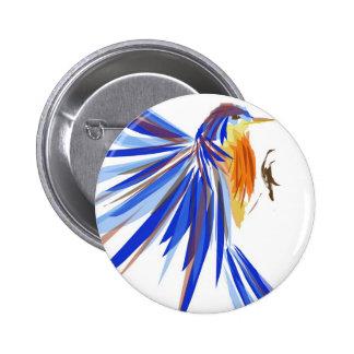 Bluebird Pinback Button