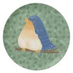 Bluebird Plate