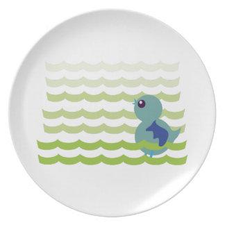 Bluebird Dinner Plate