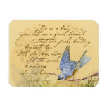 Bluebird Poem Rectangle Magnets
