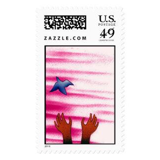 Bluebird Stamp