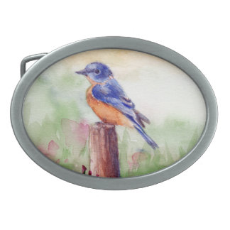 Bluebird Song Belt Buckle
