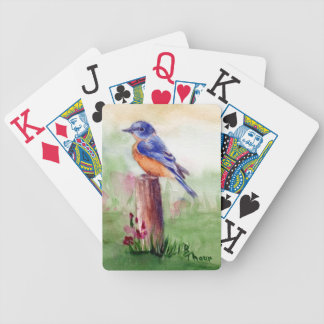 Bluebird Song Playing Cards