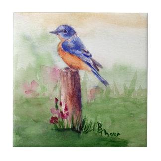 Bluebird Song Tile