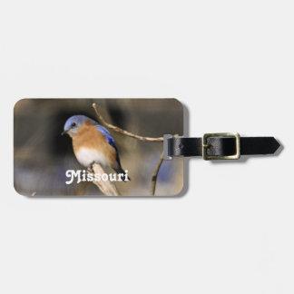 Bluebird Tag For Luggage