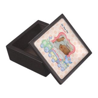 Bluebird Toy Train - Baby Birth - Customize Premium Gift Box