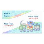 Bluebird Train Business Card Template