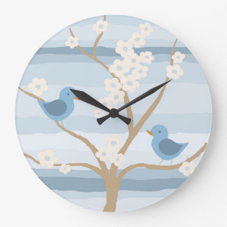 Bluebird Tree clock