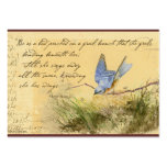 Bluebird Victor Hugo Quote Business Cards
