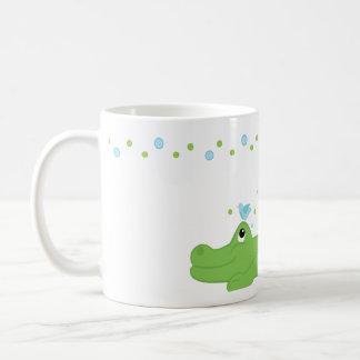 Bluebirds and Gator Coffee Mug