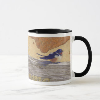 Bluebirds, barn swallows mug