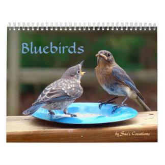 Bluebirds Calendar