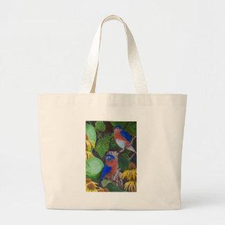 Bluebirds Canvas Bags