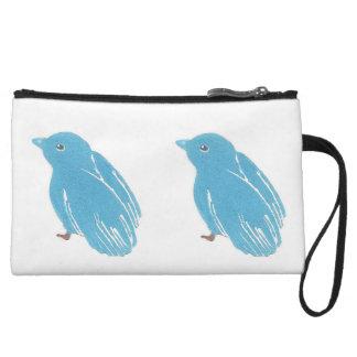 Bluebirds Clutch Bag