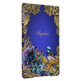 Bluebirds Flowers Vintage Blue Birds Rose iPad Air Cases