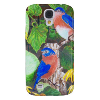 Bluebirds Galaxy S4 Cover
