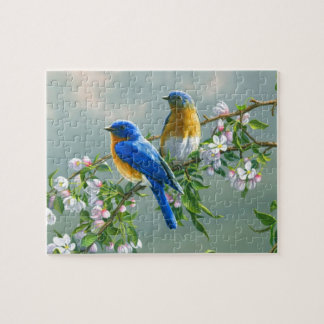 Bluebirds Jigsaw Puzzle