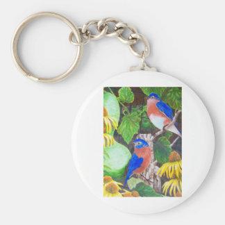 Bluebirds Key Chains