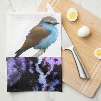 Bluebirds Kitchen Towels