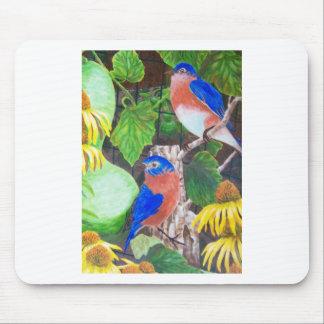 Bluebirds Mousepad
