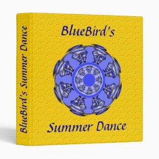 BlueBird's Summer Dance 3 Ring Binder