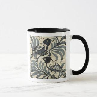 Bluebirds (w/c on paper) mug
