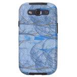 blueblue galaxy SIII cárcasas