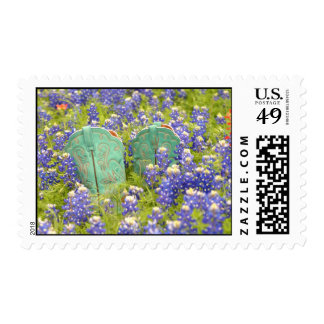 Bluebonnet and Boots Stamp