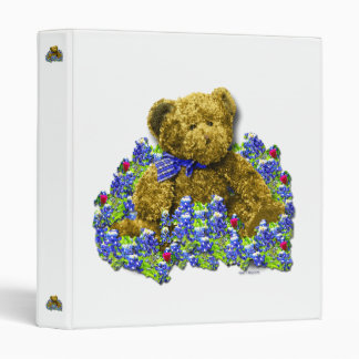 Bluebonnet Bear Binder