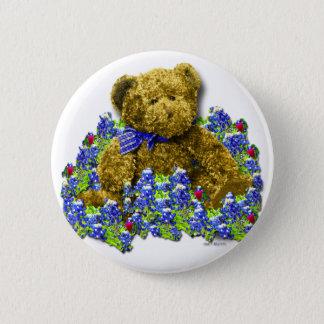 Bluebonnet Bear Button