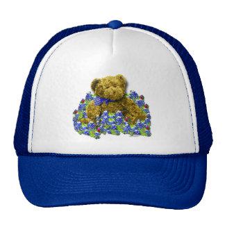 Bluebonnet Bear Hat