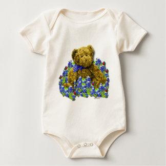 Bluebonnet Bear Infant Organic  / Creeper