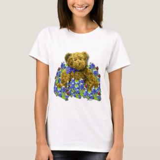 Bluebonnet Bear Ladies T-Shirt