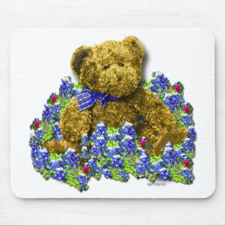 Bluebonnet Bear Mousepad