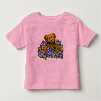 Bluebonnet Bear Toddler Ringer T-Shirt