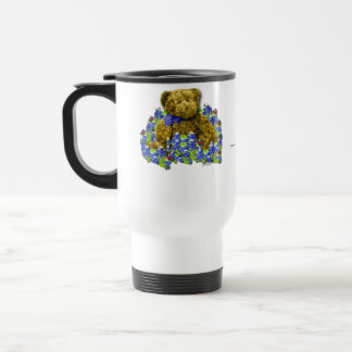 Bluebonnet Bear Travel Mug