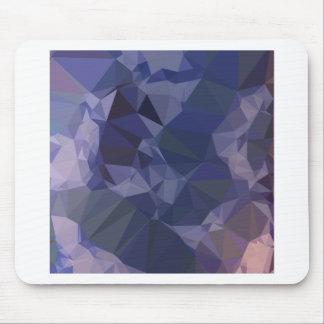 Bluebonnet Blue Orange Abstract Low Polygon Backgr Mouse Pad