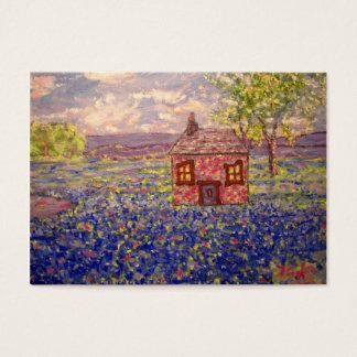bluebonnet cottage business card