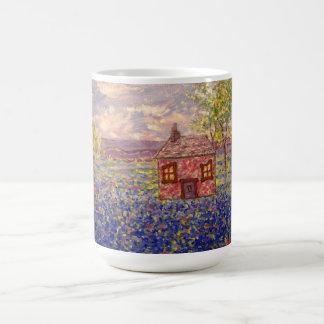 bluebonnet cottage coffee mug