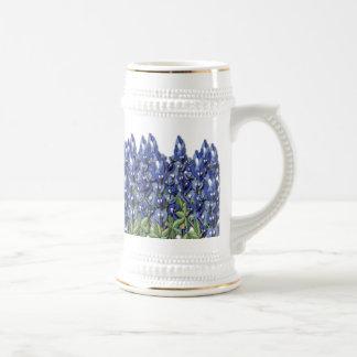 Bluebonnet Field Stein Coffee Mugs