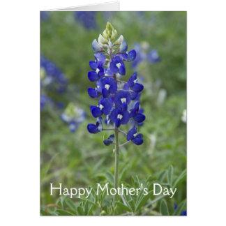 Bluebonnet Floral Mother's Day Card