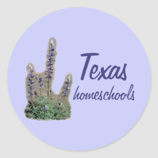 Bluebonnet Homeschool Stickers