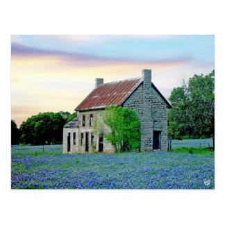 Bluebonnet House, Marble Falls, TX Postcard