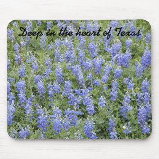 "Bluebonnet Mousepad - ""Deep in the heart of Texas"""