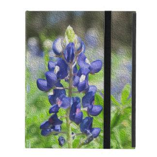 Bluebonnet Oil Painting iPad Case