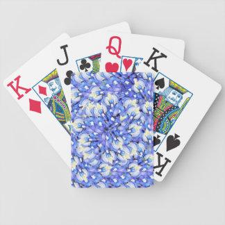 Bluebonnet Pattern Playing Cards