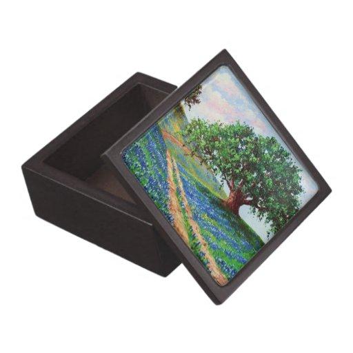Bluebonnet Road Premium Jewelry Box
