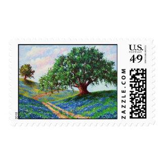 """Bluebonnet Road"" U. S. Postage Stamps"