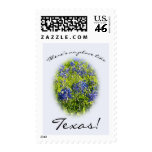 """Bluebonnet """"There's No Place Like Texas"""" Stamp"""