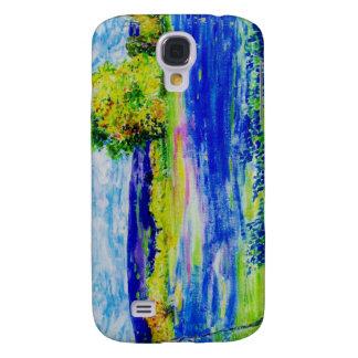 bluebonnet wildflowers galaxy s4 cover